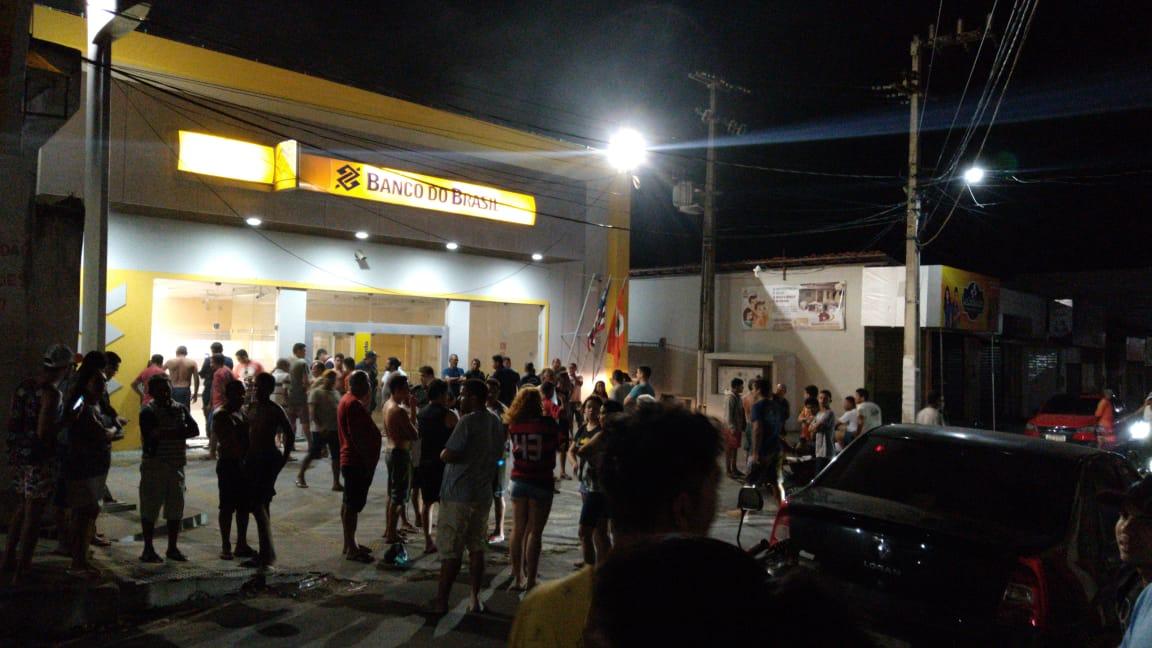 Banco do Brasil explodido em Tutóia