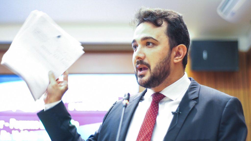 Deputado estadual Dr. Yglésio