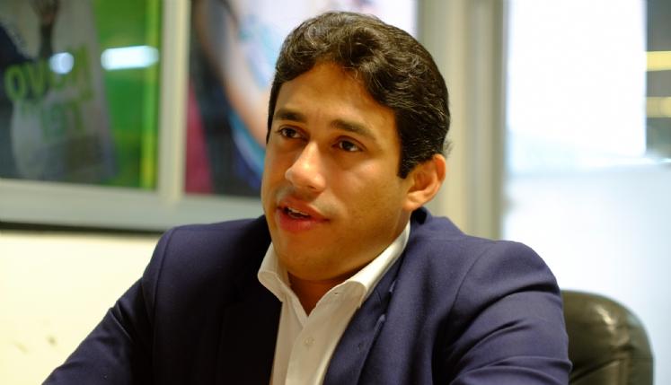 Vereador Osmar Filho, presidente da Câmara Municipal de São Luís