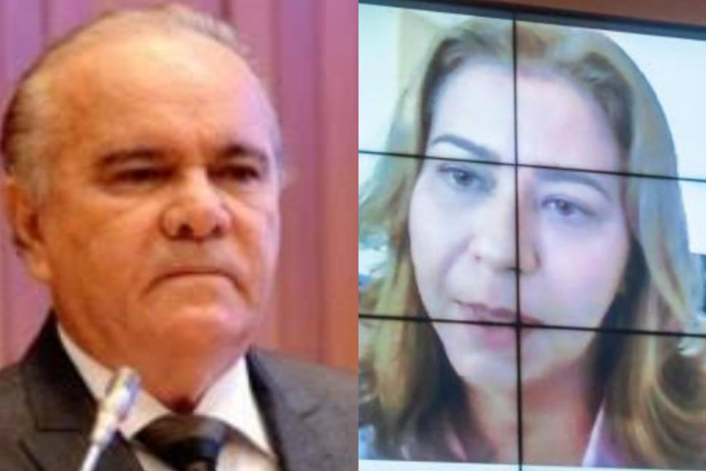 Deputados Edivaldo Holanda e Valéria Macedo
