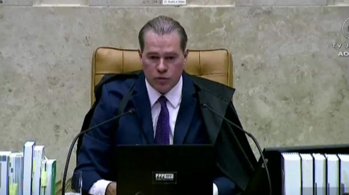 Dias Toffoli, presidente do Supremo Tribunal Federal