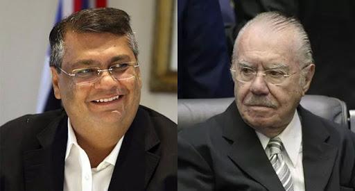 Governador Flávio Dino e o ex-presidente José Sarney