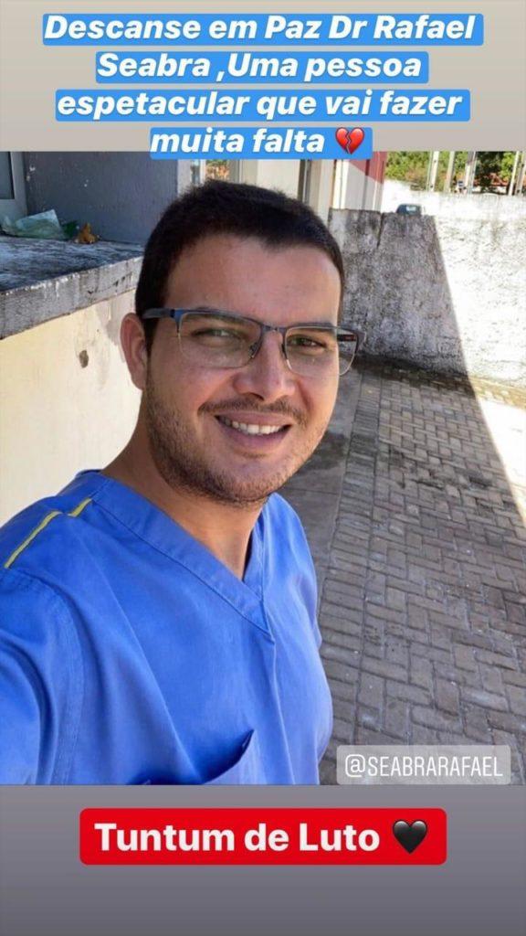 Rafael Seabra morre em acidente de carro