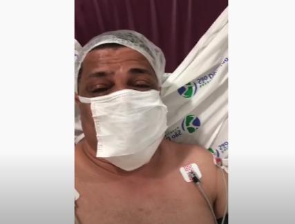 Ex-vereador Carioca após infarto