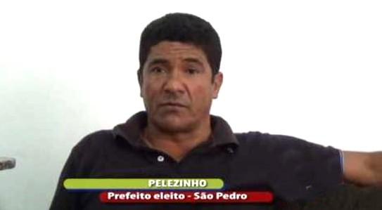 'Pelezinho', prefeito de São Pedro da Água Branca