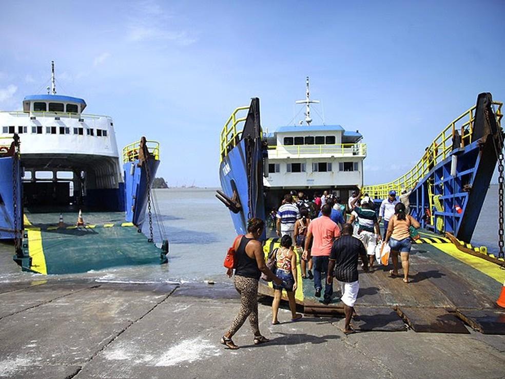 Ferry Boat. Foto Reprodução