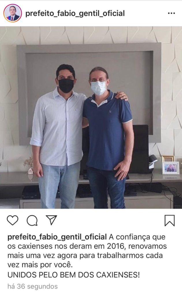 Paulo Marinho Jr e Fábio Gentil
