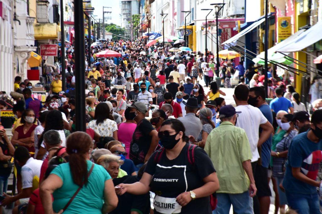 Rua Grande, em São Luís. Foto: Gilson Teixeira