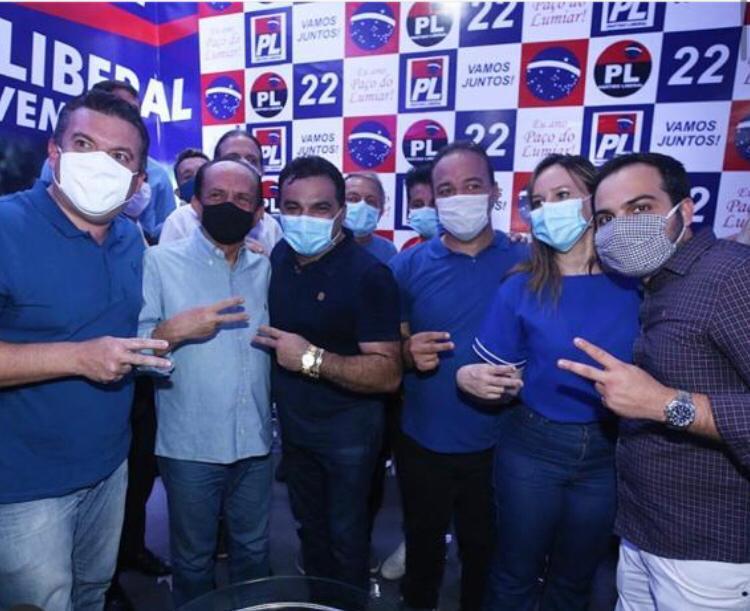 Dr Julinho ao lado dos deputados Josimar e Detinha