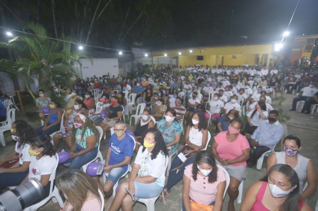 Encontro da pré-candidata Detinha no Maracanã