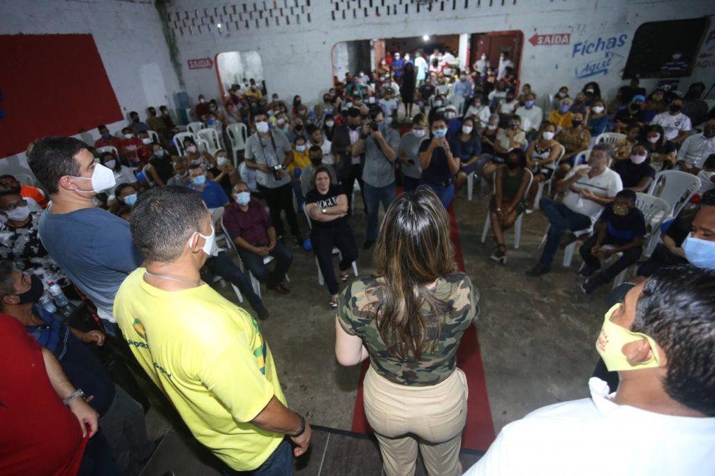 Encontro da pré-candidata Detinha no São Francisco