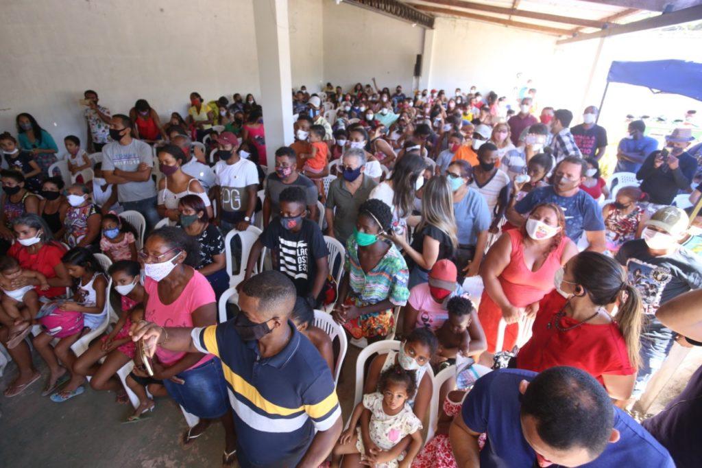 Encontro da pré-candidata Detinha na Vila Vitória