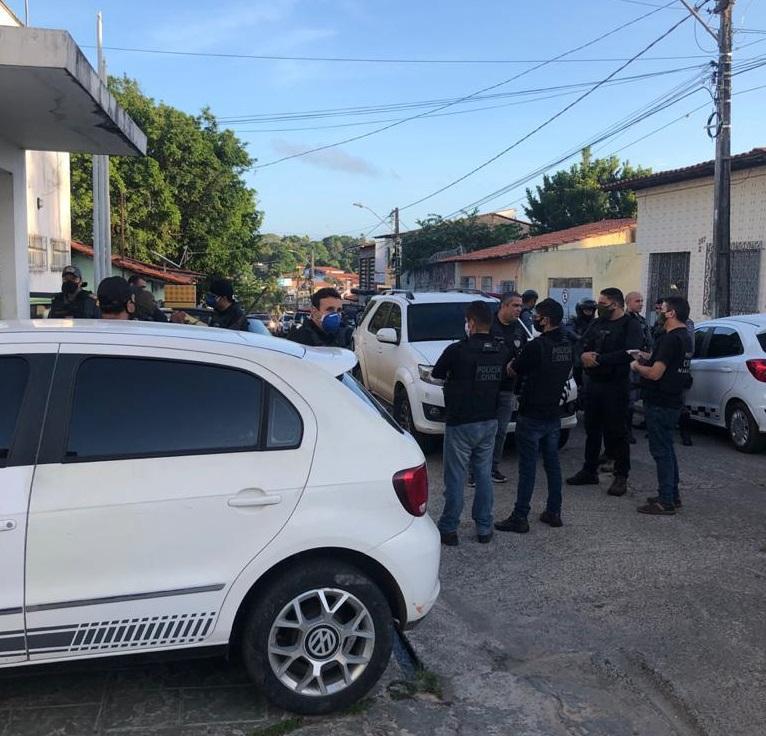 Operação das Polícias Civil e Militar
