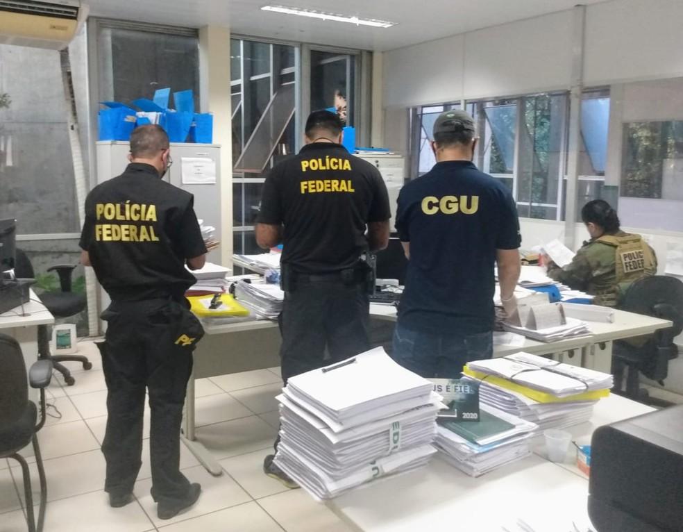 Policiais Federais em operação no Piauí
