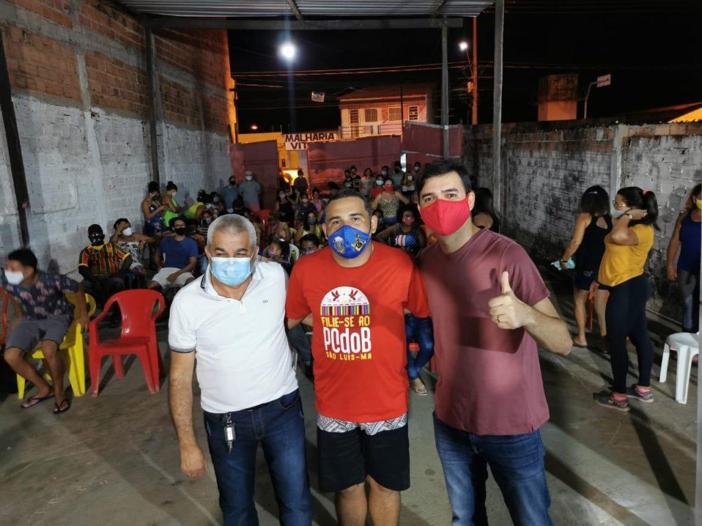 Reunião do pré-candidato Rubens Junior no bairro Lira