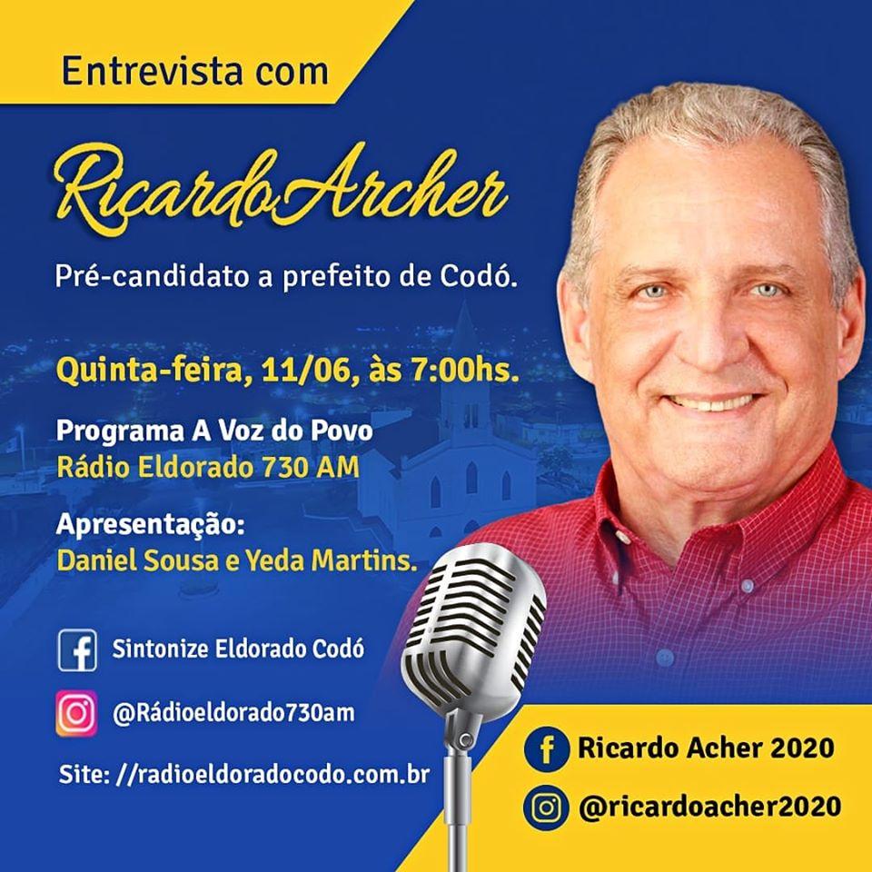 Ricardo Archer em entrevista