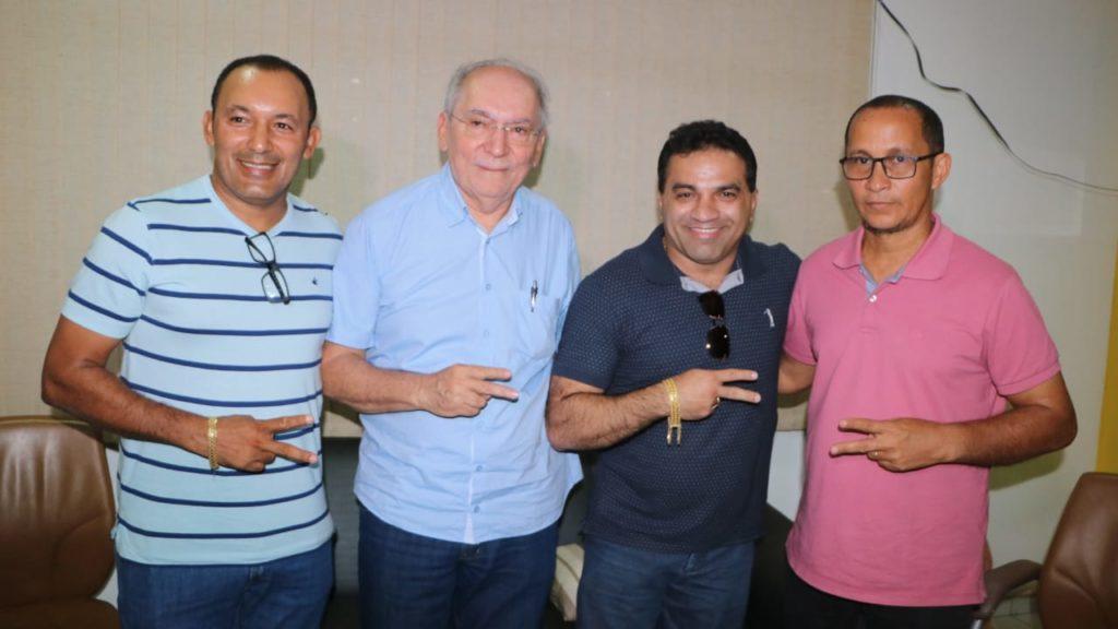 Valdivino Cabral ao lado do deputado Josimar Maranhãozinho