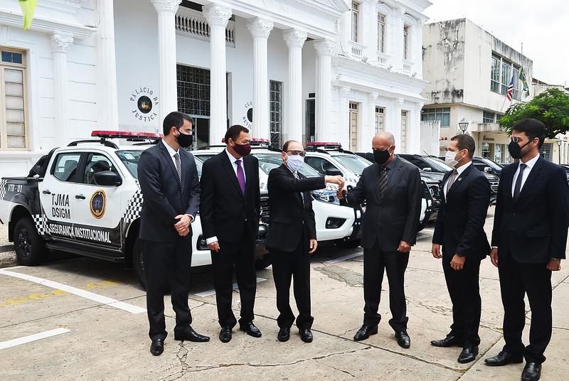 Viaturas entregues ao Tribunal de Justiça do Maranhão
