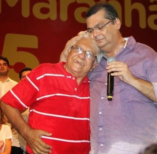 Flávio Dino e o pai, Sávio Dino