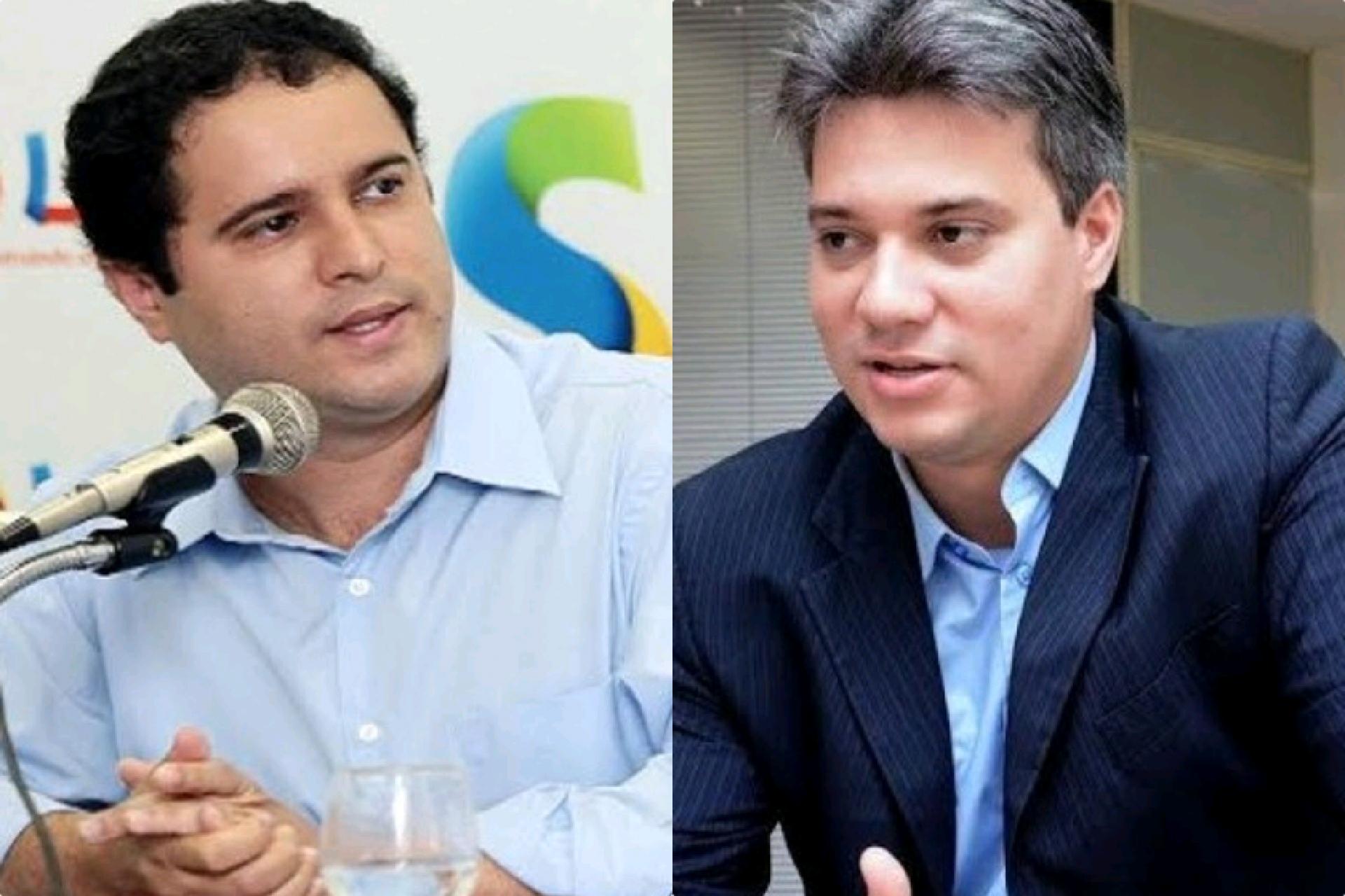 Prefeito Edivaldo Holanda Júnior (PDT) e Neto Evangelista (DEM)