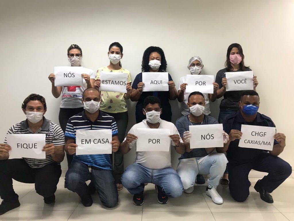 Equipe do Complexo Hospitalar Gentil Filho