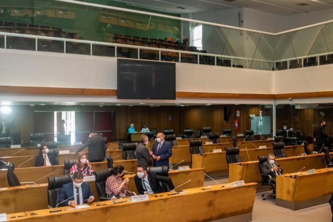 Sessão Plenária na Assembleia Legislativa do Maranhão