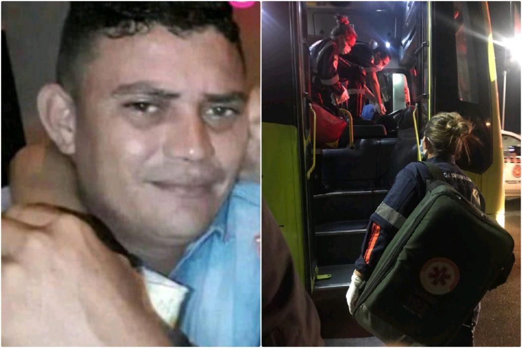 O motorista foi morto por assaltantes dentro do coletivo