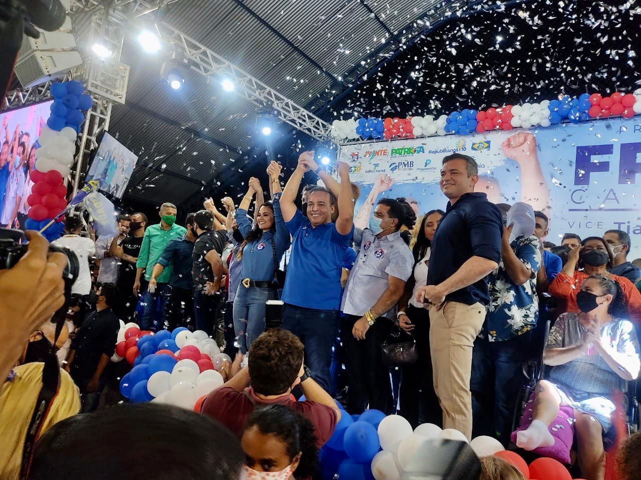 Fred Campos oficializa candidatura em Paço do Lumiar