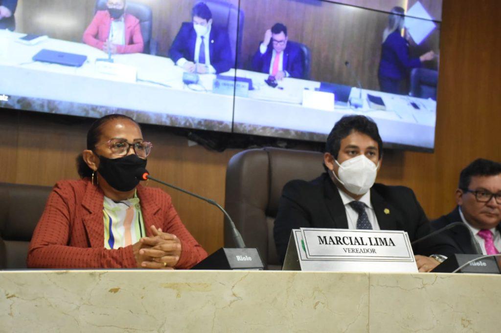 Sessão foi comandada pelo presidente da Casa, vereador Osmar Filho.. Foto: Paulo Caruá