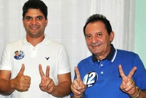 Prefeito Francisco Nagib e o deputado Zito Rolim