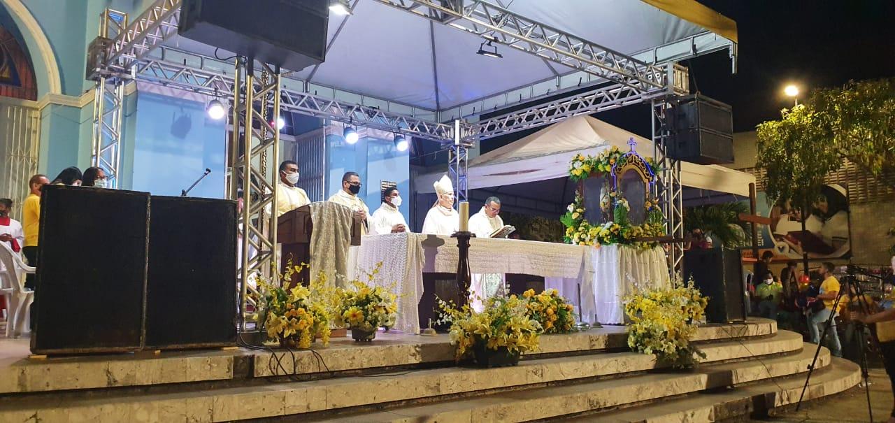 Missa de encerramento do Festejo de São José de Ribamar realizada ontem (27) pelo Arcebispo Dom Belisário