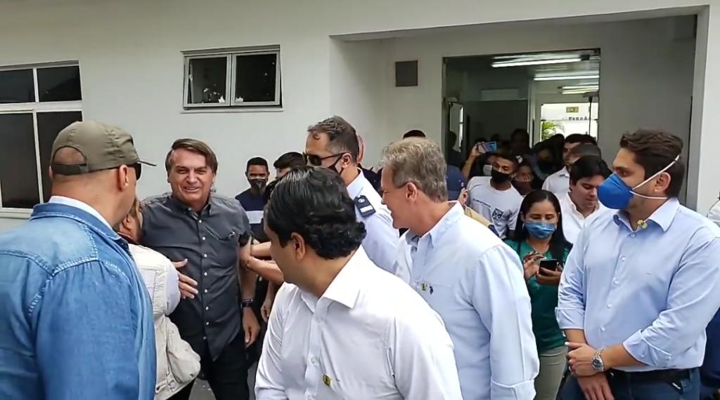 Presidente Jair Bolsonaro em São Luís