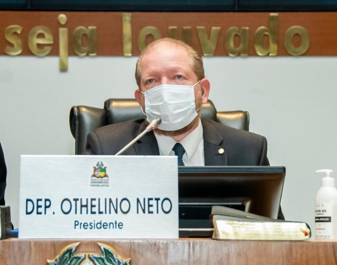 Othelino anuncia expansão da transmissão da TV Assembleia para o interior do Estado - Blog do Minard